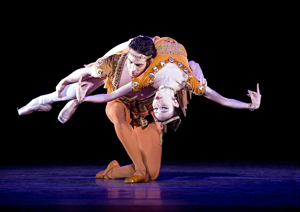 Hee Seo and Sascha Radetsky in Thaïs Pas de Deux. Photo: Gene Schiavone.