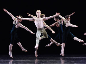 Photo: Paul Taylor Dance Company in Brandenburgs