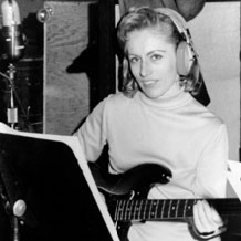 Carol Kaye in-studio, 1969