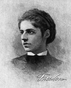 Freedom: A History of US. Biography. Emma Lazarus | PBS