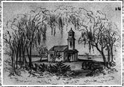 Illustration of an African-American Church