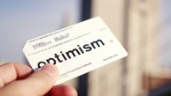 Reed Seifer's optimism MetroCard. Photo by Alex Kwong.