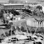 Archival image from the 1964 World's Fair at Flushing Meadows Corona Park in Queens, taken July 30, 1964. Photo courtesy of Parks Photo Archive, City of New York Parks & Recreation.