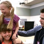 """Viewer question:<br> """"Did any of the girls cry or have fits?"""" <br><br> Joshua Seftel:<br> """"There were very professional almost all the time."""" <br><br>Pictured: Emily Rosenfeld, Georgi James, and Andy Blankenbuehler."""