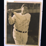 "This collection of photos hung in the Hilltop Restaurant until the 1960s. It includes a rare photograph of the Babe as a three-year old, with a charming inscription: ""What a nice little boy at age three. But now, wow. To my pals Herbie and Gertie, Babe Ruth."" Value: $25,000 to $30,000"