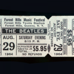This ticket is  great because it's never been torn, but unfortunately for a bad reason - the owner left it at home by mistake on the night of the concert. Some consolation - a stub would be probably $50 to $60, and the full ticket right now is around $200 to $300.