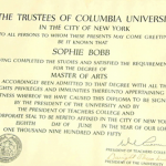 Dwight D. Eisenhower spent some time as president of Columbia University in the 50s. This diploma with his signature is now worth between $700 and $900.
